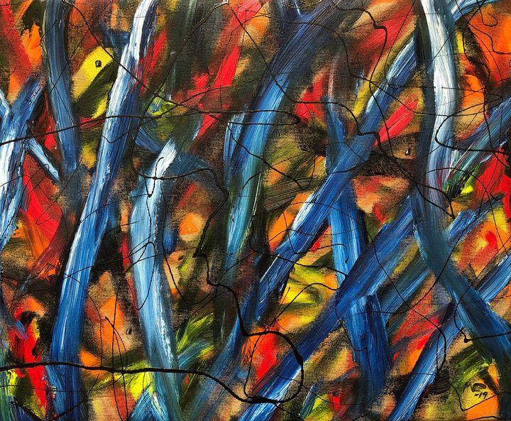 Samsara No.9 (Original paintingSOLD) - Marcus Carlsson