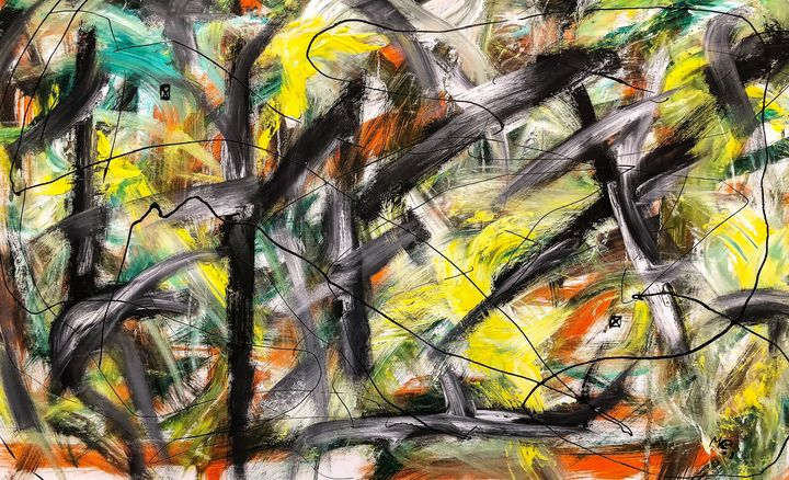 Trapped No.1(Original paintingSOLD) - Marcus Carlsson