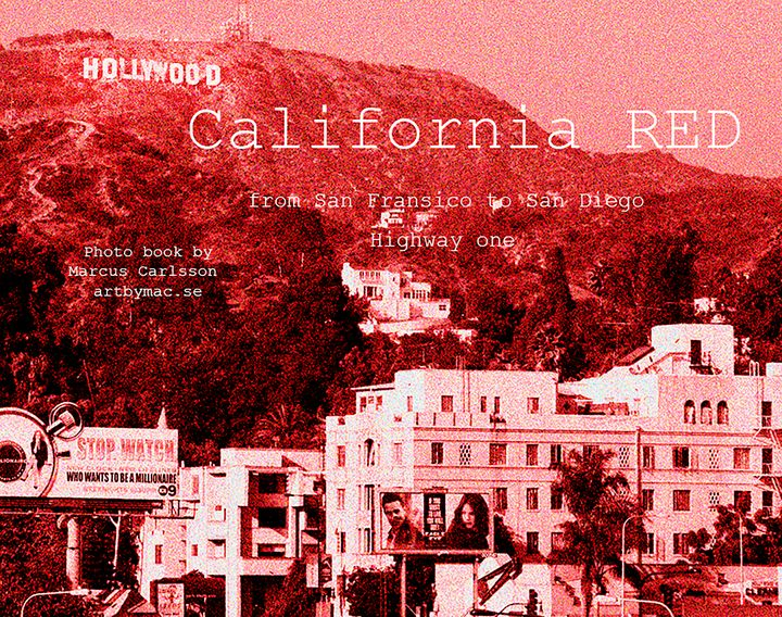 California Red Photo book - Marcus Carlsson