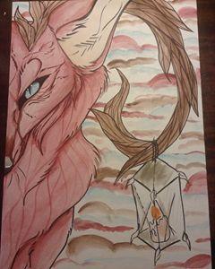 Red fox W/ Lantern