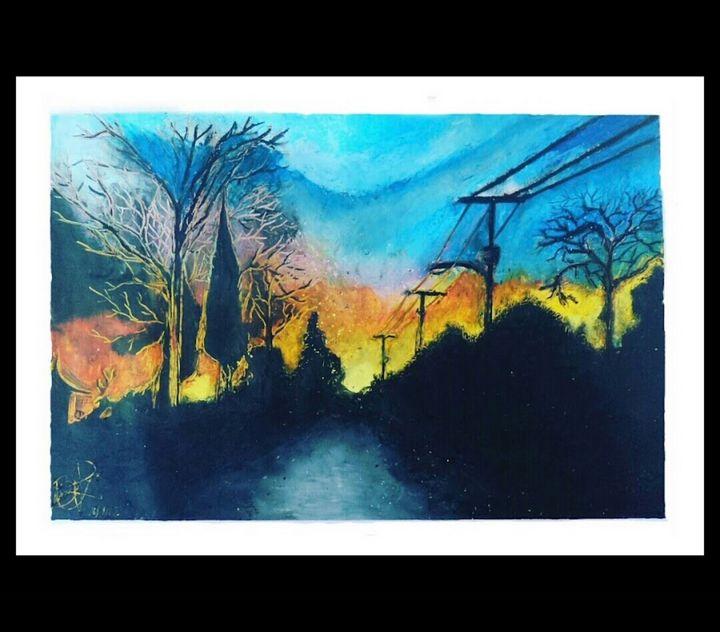 OC Sunset Oil Pastel - ChocolateUniverse