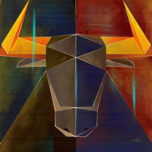 Geometric Bull 1