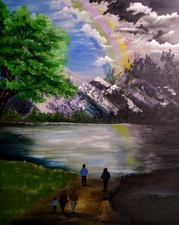 HOPE In A Time Like This - Denise's Regal Art
