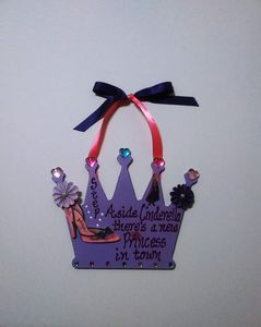 Girl's Princess Wall Hanging Crown