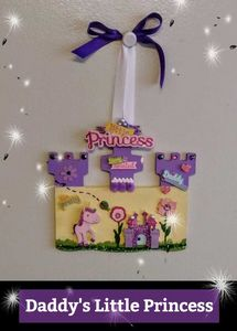 Little Princess Castle - Wall Decor