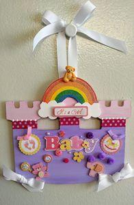 It's A Baby Girl! - Wall Decor - Denise's Regal Art