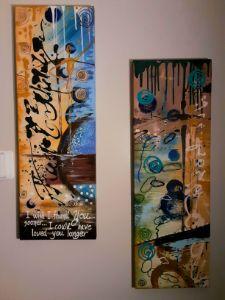 Beautiful Original Abstract Painting - Denise's Regal Art