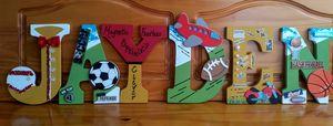 Sporty Wall Art for JAYDEN'S Room - Denise's Regal Art