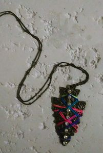 Rainbow Colored Handmade Necklace