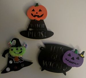Halloween Refrigerator Magnets