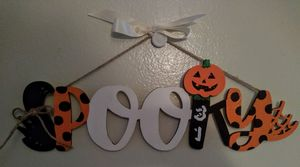SPOOKY Halloween Wooden Wall Decor