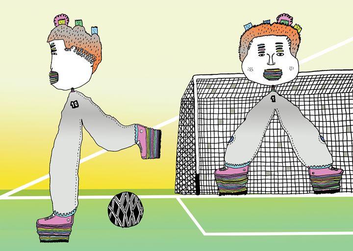 futbol5 - Lino Divas Art Gallery