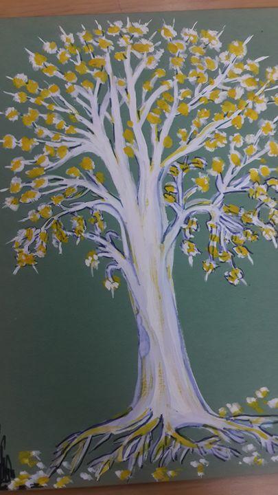 Plant painting - Vishwa Mohan dubey