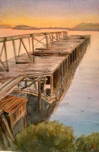 The coal loader wharf