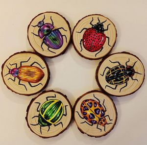"""""""Beetles"""" Coasters"""