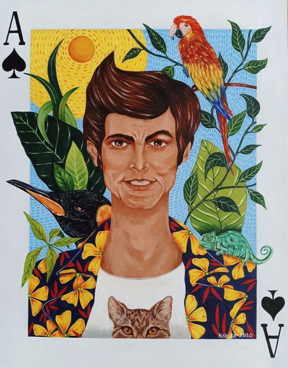 """ Ace Ventura"" - Art by Rishika"