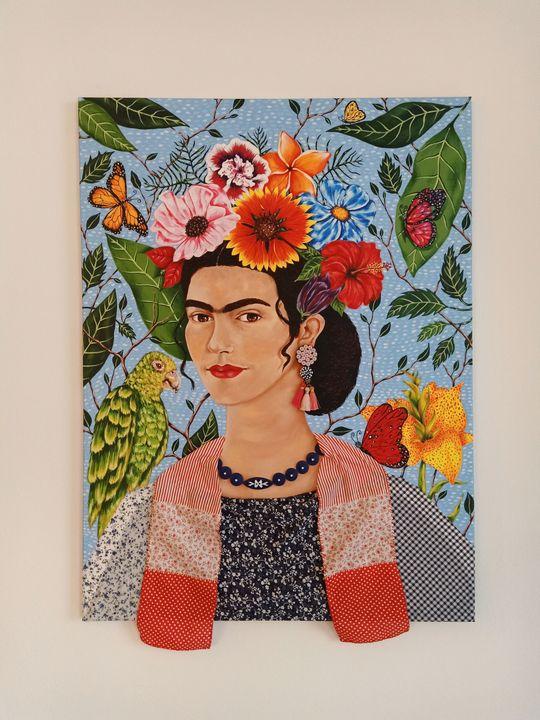"""Frida and Bonito"" - Art by Rishika"