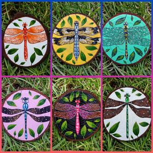 """""""Dragonfly Coasters"""""""