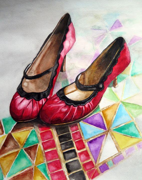 Shoes - Amanda Jane Rumming