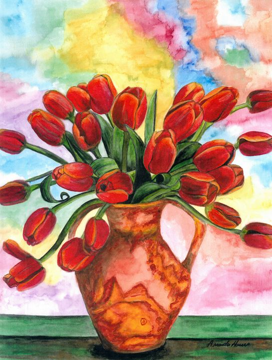 Tulips - Amanda Jane Rumming