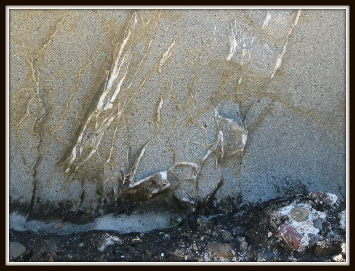 Abstraction of rocks 8 - Nilit
