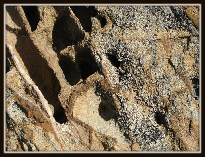 Abstraction of rocks 7 - Nilit