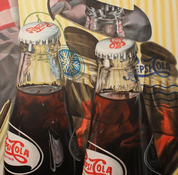 Pepsi - Sabin & Catalina Art