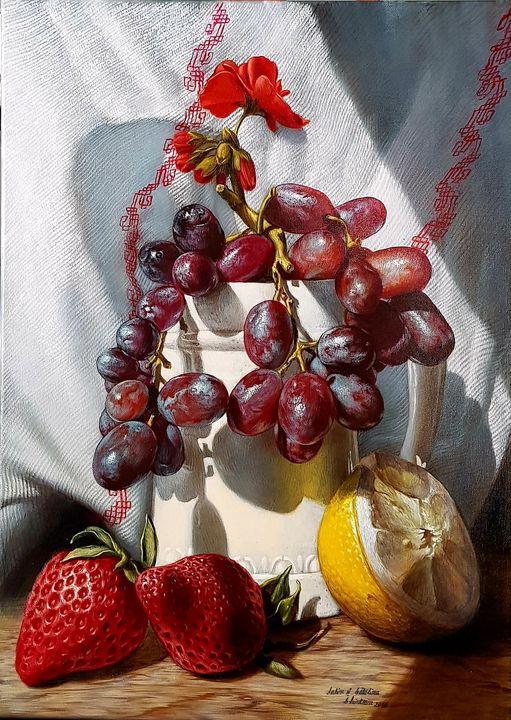 Fruits in the sun - Sabin & Catalina Art