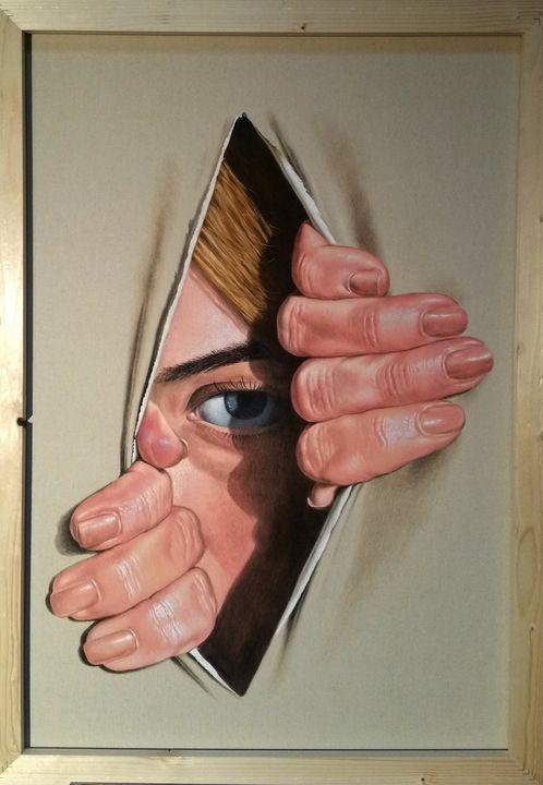 Trough Canvas - Sabin & Catalina Art