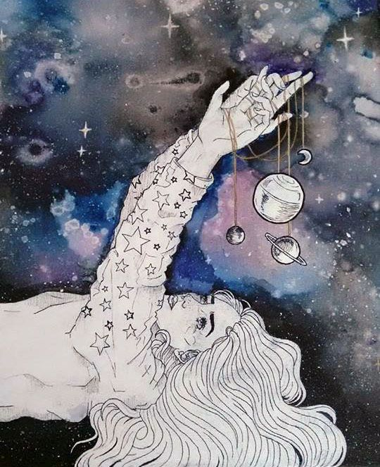 Universe in My Hands - Sarah Carolina