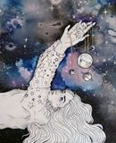 Girl and Universe