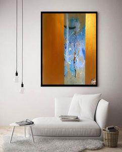 Gold Rhythm / Canvas Print