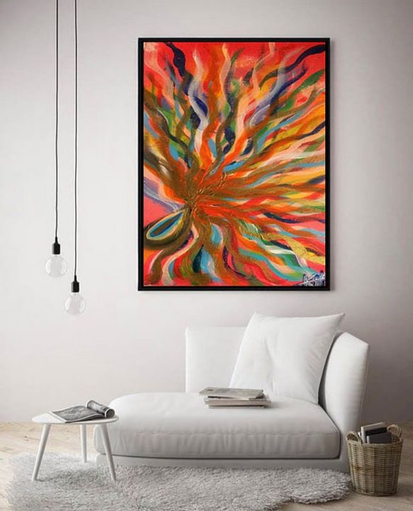 Relief / Canvas Print - KyAbstracts