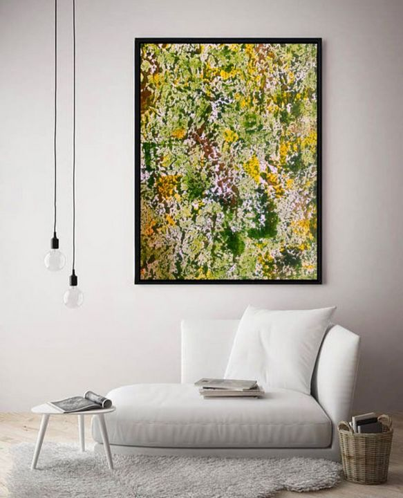 Ego / Canvas Print - KyAbstracts