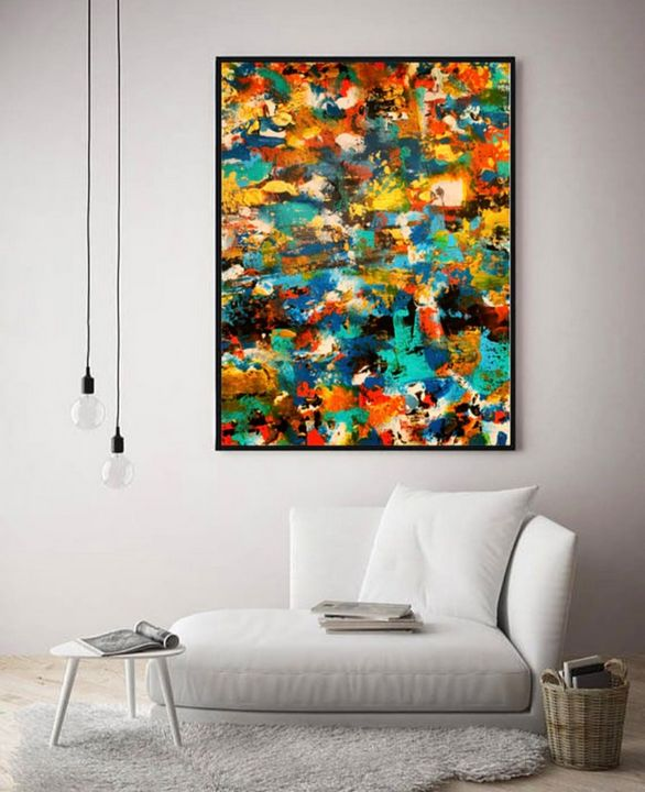 Existential / Canvas Print - KyAbstracts