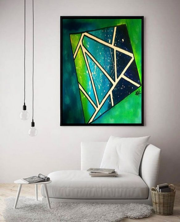 The Next Dimension / Canvas Print - KyAbstracts