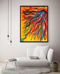 Way of Passion / Canvas Print