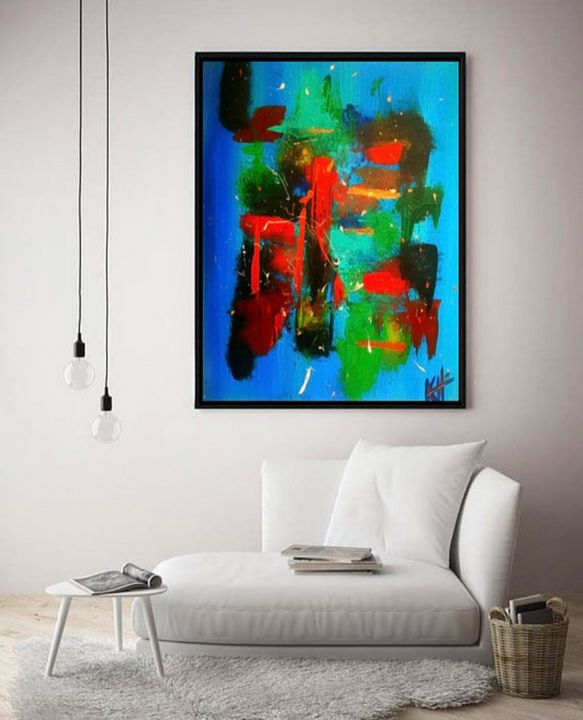 Inside Out / Canvas Print - KyAbstracts