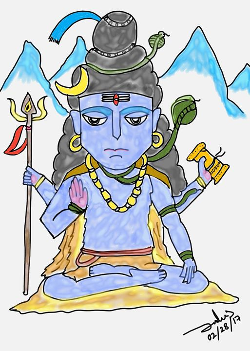Lord Shiva - Art in many forms