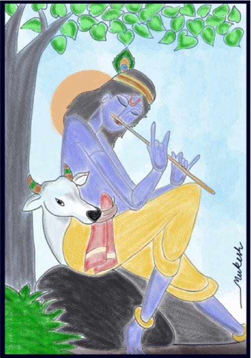 Krishna - Art in many forms