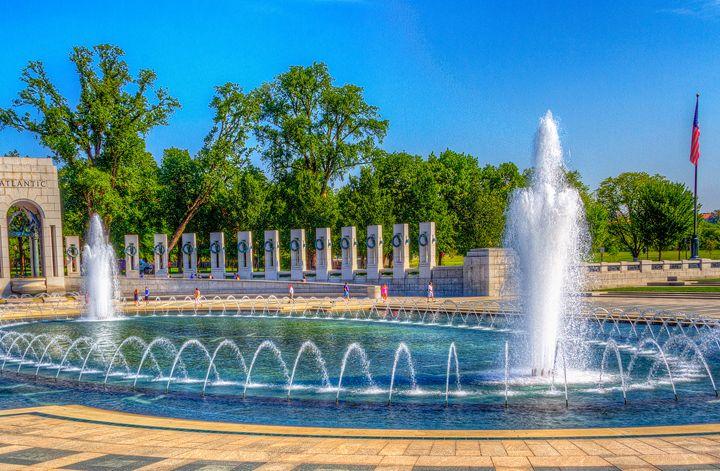 WWII Fountain - Bryant Heffernan