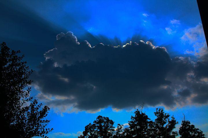 Sun Behind Cloud - Lisa McClendon
