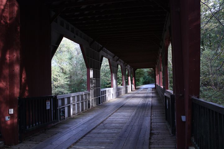 Covered Bridge in NC Mountains - Lisa McClendon
