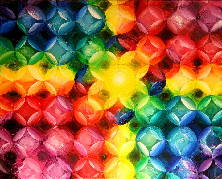 Color Distribution #1 - Color Distributions