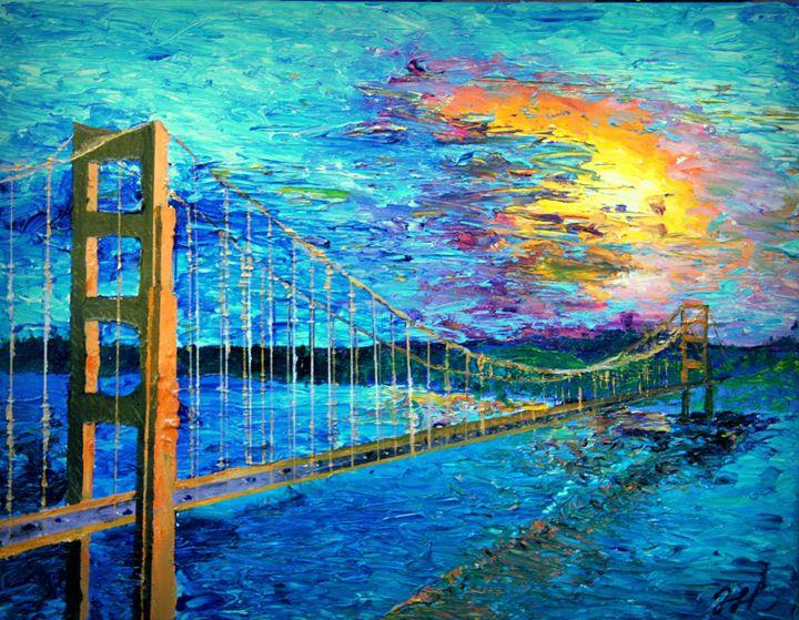 Golden Gate Bridge - Color Distributions