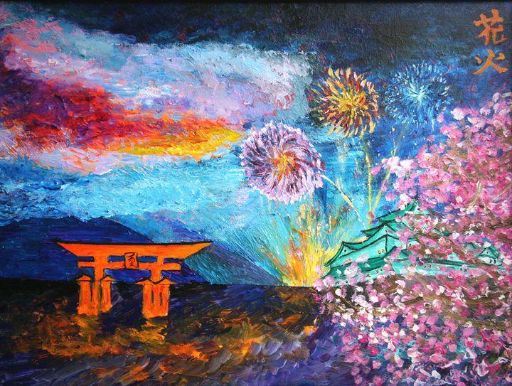 Hanabi (firework) - Color Distributions