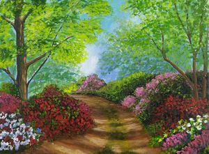 flower path - Aspia's artbook