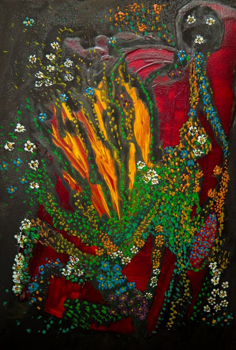 Fall Dream - Traditional Art