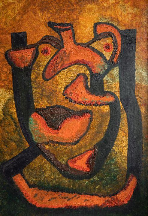 The Broken Jug - Traditional Art
