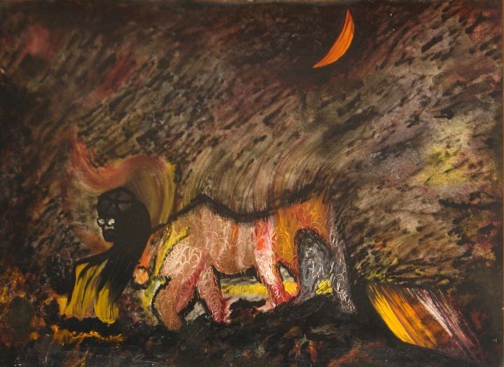 The Taurus - Traditional Art